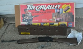 1976 Tin Can Shooting Alley Game Ideal Toys Chuck Connors The Rifleman FOR PARTS - $74.79