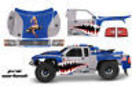 Amr Rc Graphic Decal Sticker Kit Traxxas Jconcepts Course 2012 Chevy Silverado W - $29.65