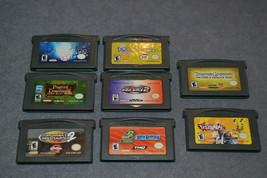 Nintendo Game Boy Advance: 8 Game Lot - $18.00