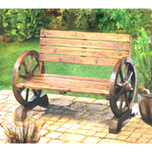 Wagon Wheel Bench - $169.94