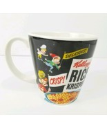 Vintage Kelloggs Rice Krispies Mug 2005 Collectible Coffee Cup Crisp Cer... - $12.19