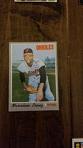 1970 TOPPS SIGNED AUTO CARD MARCELINO LOPEZ ORIOLES ANGELS PHILLIES BREW... - $98.99
