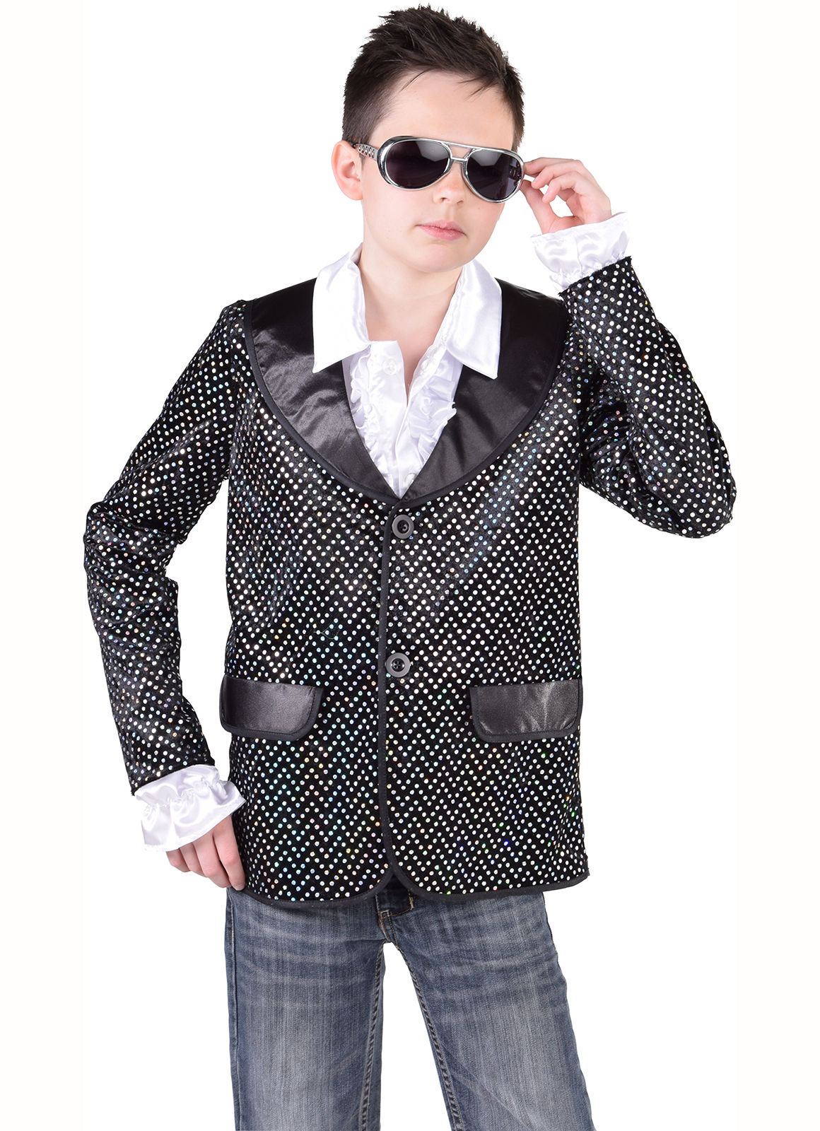 Kids SEQUINNED Jackets - Cabaret / Showman image 3