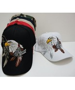 Embroidered Native Pride Eagle Baseball Hat NEW - $10.00