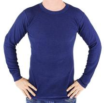 Men's Long Sleeve Thermal Underwear Light Weight Solid Shirt image 4