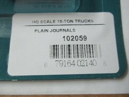 Rapido # 102059 Freight Trucks 70 Ton S-2A Solid Bearing Plain Journals HO Scale image 2
