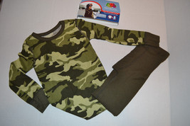 Boys Fruit of the Loom Therma Underwear Set  Sizes XS NWT Green Camo  - $10.39