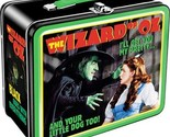 The Wizard of Oz Dorothy and Witch Large Carry All Tin Tote Lunchbox, NEW UNUSED