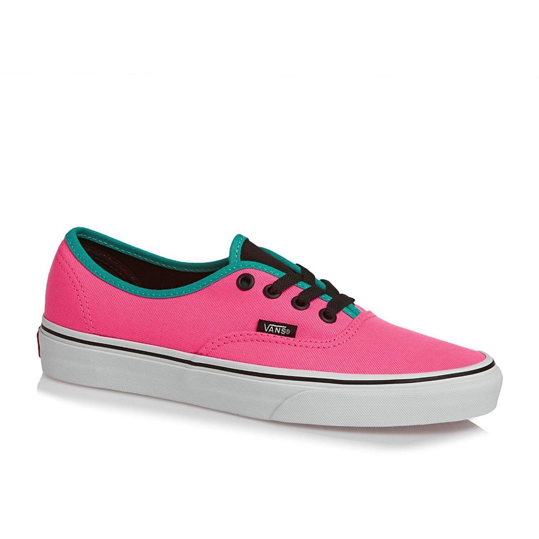 acf8d91d208cbd Authentic Vans Brite Neon Pink Black Shoes and 50 similar items
