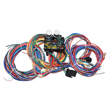 12 Circuit Street Hot Rat Rod Custom Universal Color Wiring Wire Kit XL WIRES