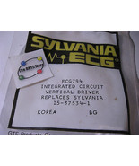 Sylvania ECG794 Vertical Driver IC 16 Pin DIP Philips ECG 15-37534-1 - N... - $5.69