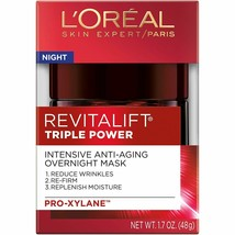 L'Oreal Paris Revitalift Triple Power Intensive Overnight Mask 1.7 oz. - €13,28 EUR