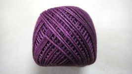 Violeta Oscuro - 6 Tira / Hebras Hilo Algodón Hilado- Punto de Cruz/Bord... - $3.95