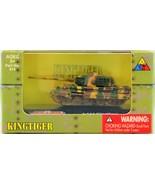 Classic Armor 1:144 King Tiger Tank Model #415 New In Box Free Shipping ... - $11.87