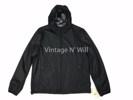 Levis Red Tab Men XL Black Performance Hood Jacket Active/ Bicycle/ Wind... - $42.74