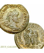 PHILIP II Tetradrachm XF Eagle Large Ancient Roman Empire Coin 249 AD Pr... - $269.10