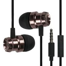 TOPROAD In-Ear Subwoofer Metal Earbuds Earphone with Microphone Handfree... - $13.21