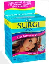Surgi-wax Complete Hair Removal Kit For Face, 1.2-Ounce Boxes Pack of 3 image 11