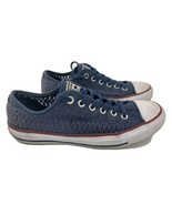 Converse Chuck Taylor All Star Mesh Women's Shoes Size 8.5 Blue 551540F - $37.61
