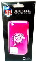 MIAMI - DOLPHINS - NFL - iPOD - TOUCH - 4TH GENERATION - HOT PINK - CASE... - $4.49