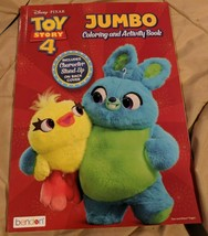 Disney Pixar Toy Story 4 Includes Character Stand-Up (Like Paper Dolls)96 pages - $5.30