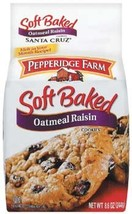 Pepperidge Farm Santa Cruz Soft Baked Oatmeal Rasin Cookies 8.6 oz (Pack... - $42.99
