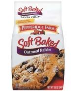 Pepperidge Farm Santa Cruz Soft Baked Oatmeal Rasin Cookies 8.6 oz (Pack... - $42.99