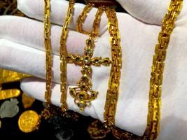 1715 FLEET QUEENS JEWELS GOLD DIAMOND CROSS PIRATE GOLD COINS SHIPWRECK ... - $250,000.00