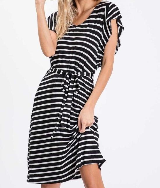 Dressstripedblack