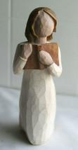 Demdaco Willow Tree Susan Lordi Love Of Learning Figurine Figure Holding Book - $13.86