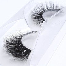 3D Mink Fur Fake Eyelashes 100% Mink Fur Hand-made False Lashes 1 Pair P... - $29.45