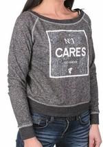 Famous Stars & Straps Charcoal Heather Go Harder Pazer Juniors Crew Sweatshirt image 2
