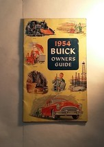 1954 Buick Automobile Owner's Guide, Original Booklet - $5.89