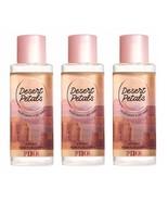 Victoria's Secret PINK Desert Petals Body Mist 8.4 fl oz x3 - $36.99
