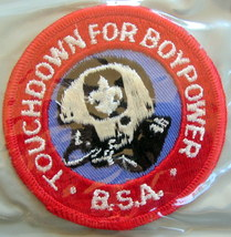 Boy Scout Touchdown For Boy Power Patch - $9.18