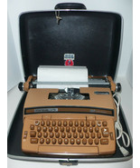 Vintage Smith Corona Coronet Super 12 Electric WORKING Typewriter w Hard... - $197.95
