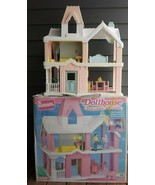 Vintage Playskool Doll House with Lights and Sound IOB - $303.88