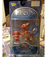 Memory Lane Rudolph The Red Nosed Reindeer Light Up Nose & Misfit Doll N... - $39.99