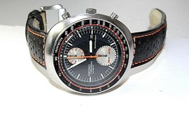 SEIKO JAPAN VINTAGE AUTOMATIC CHRONOGRAPH 6138 - 0011 WATCH CLEANEST - $1,013.54 CAD