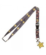 Nintendo Super Mario Brothers Star Video Game ID Badge Holder Keychain L... - $8.75