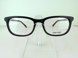 Nine West NW 5169 (500) Dark Purple 52-17-135  Eyeglass Frame - $59.35