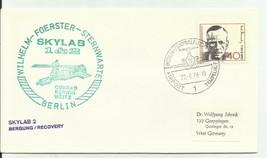 SKYLAB 1&2 GERMAN SPACE COVER BERLIN GERMANY 6/22/1973 - $1.98