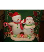 HALLMARK JINGLE PALS SEASON'S TREATINGS SNOWMAN SINGING MOTION MUSIC 200... - $32.95