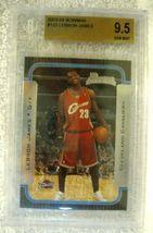 Lebron James RC 2004 Fleer USA Rookie Card GEM BGS 9.5! Cavaliers RC image 4