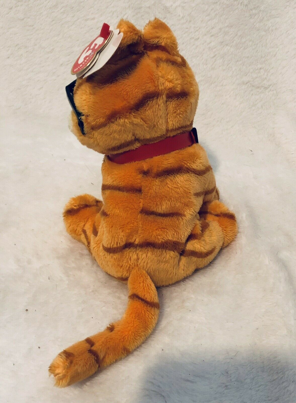 """TY GARFIELD the CAT COOL CAT BEANIE BABY BABIE Plush Toy MINT with MINT TAGS 8"""""""