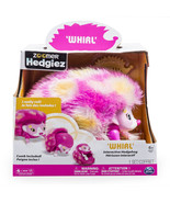Zoomer Hedgiez Whirl Interactive Hedgehog With Comb Really Rolls NEW - $30.00
