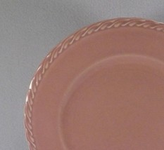 Metlox Native California Salad Plate PINK-1940's Pastel Poppytrail Vernon - $14.95