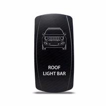 CH4X4 Rocker Switch Jeep Renegade Roof Light Bar Symbol - White LED - $16.44