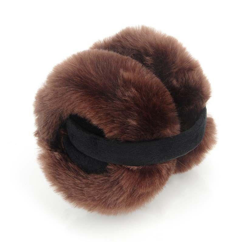Wireless Bluetooth headphone Ear Warmer Women Adjustable Winter Faux Ear Muffs