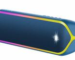 Sony SRS-XB32/L Portable Waterproof Bluetooth Speaker SRSXB32 - Blue **GRADE B**